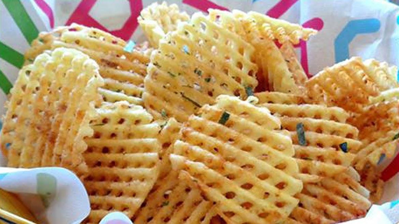 Chip khoai tây giòn rụm, độc đáo