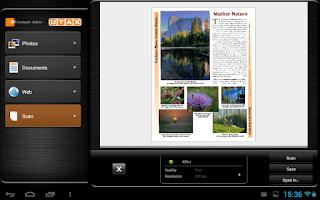 Screenshot of TA/UTAX Mobile Print