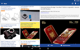 Screenshot of All About Samsung