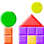 making shapes - puzzles Icon