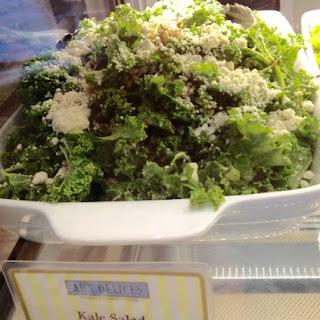 Aux Delices Miso Ginger Kale Salad Dressing.