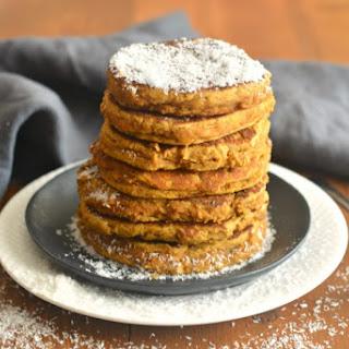 Pumpkin Coconut Pancakes