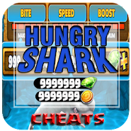 cheat For Hungry Shark Game hack - App Joke Prank! APK icon