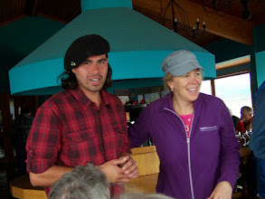 Photo: We met assistant guide Rafael (aka Rafa) who lives in Puerto Natales. Kris was our US guide.