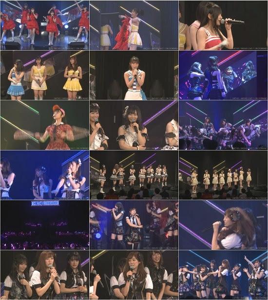 (LIVE)(720p) HKT48 チームH「シアターの女神」公演 坂口理子 生誕祭 Live 720p 170809