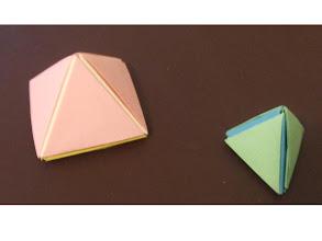 Photo: Les triangles - la pyramide