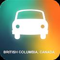 British Columbia, Canada GPS icon