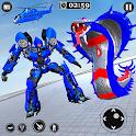 US Police Cobra Transform Robot Games icon