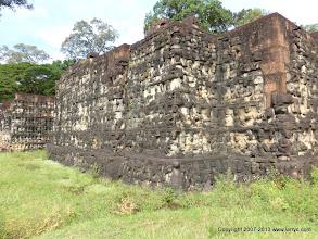 Photo: Terrace of the Leper King at Angkor Thom