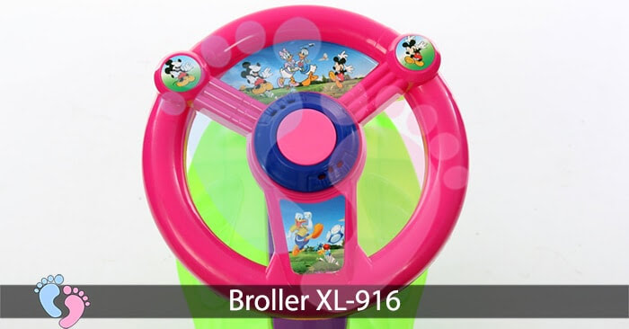 xe lắc trẻ em Broller XL-916 6