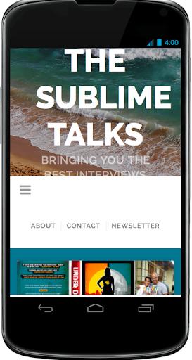The Sublime Talks