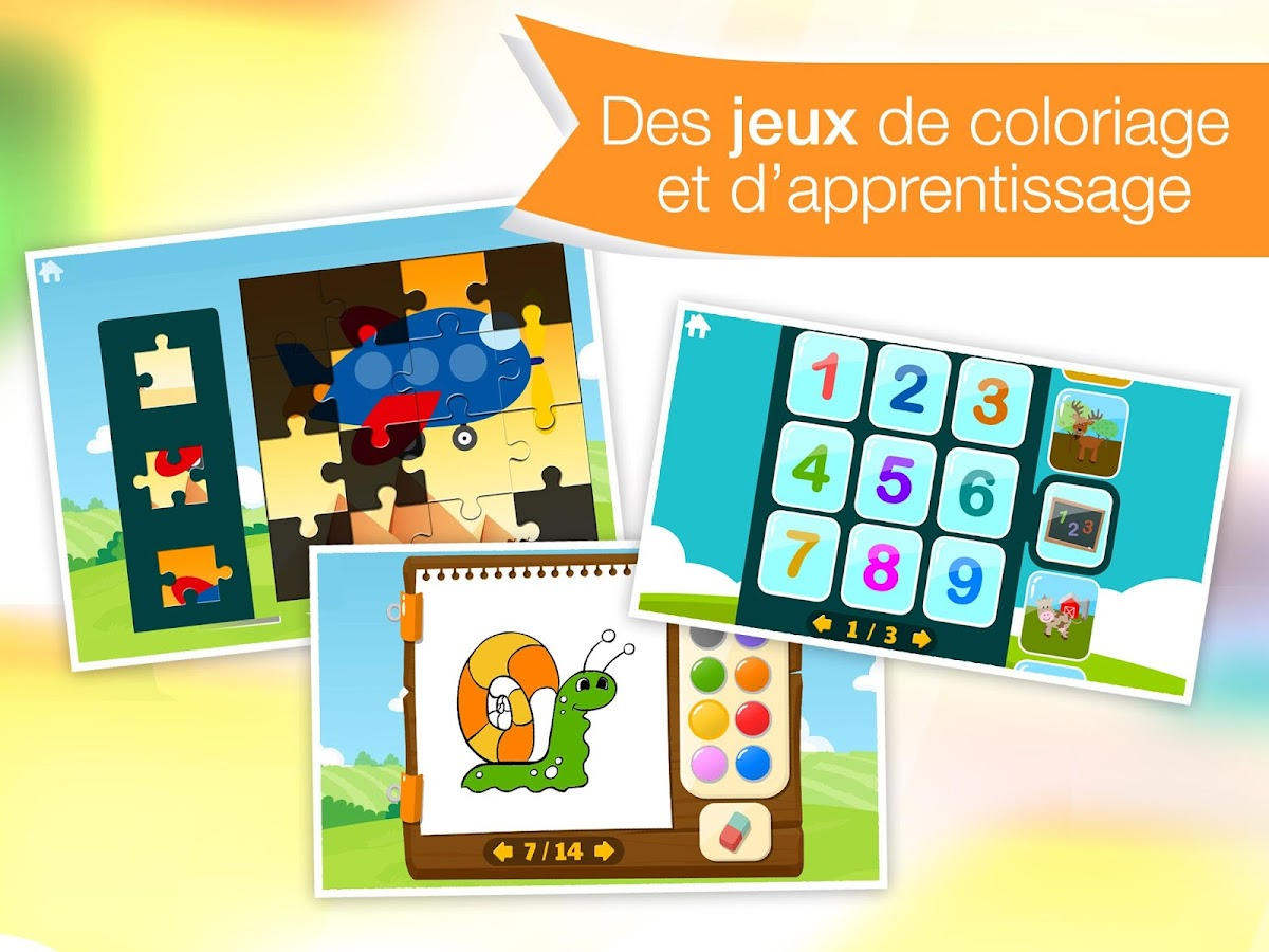 Tiny Kids: jeux&dessins animés – Capture d'écran
