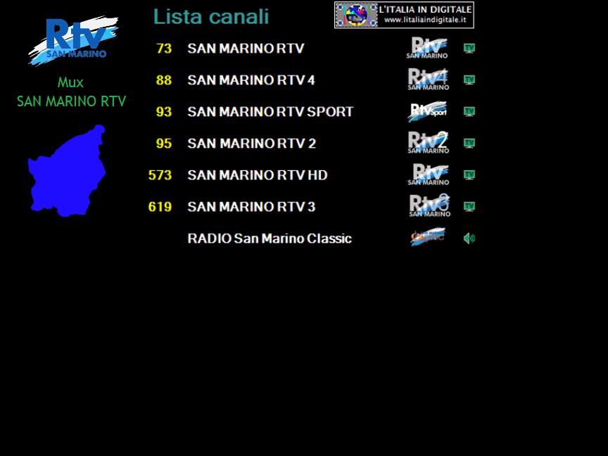 MUX SAN MARINO RTV