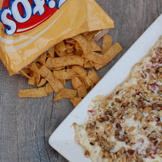Hot Chipped Beef Dip Appetizer.