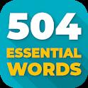 504 لغت ضروری ( آموزش زبان انگلیسی ) icon