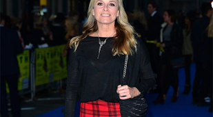 Tamzin Outhwaite moves new man in