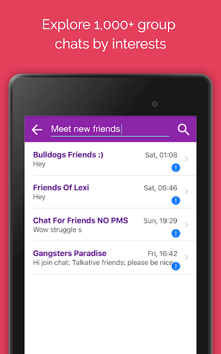 Anonymous Chat Rooms for meeting new people – Anti app (apk) free download for Android/PC/Windows screenshot