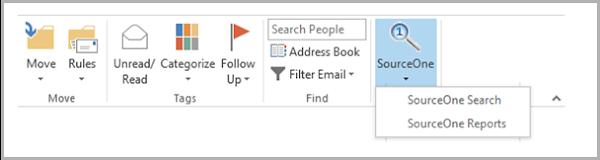 DELL EMC SourceOne Outlook Search Plugin   DELL EMC