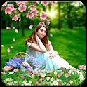 Garden Photo Background Editor: Garden Photo Frame icon