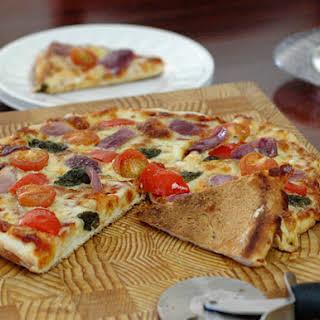 Stove Top Pizza.