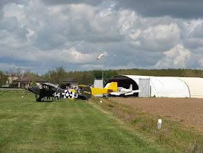 Photo: Vue du parking de Fauillet