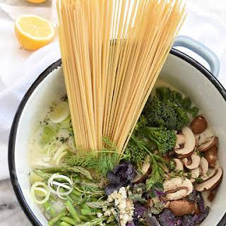 One-Pot Skinny Pasta Primavera.