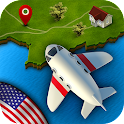 GeoFlight USA Free: Geography
