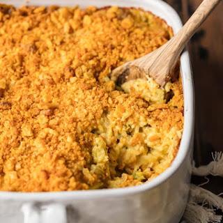 Cheesy Broccoli Chicken Rice Casserole.