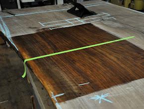 Photo: http://dorsetcustomfurniture.blogspot.com/2016/06/a-custom-claro-walnut-slab-table.html