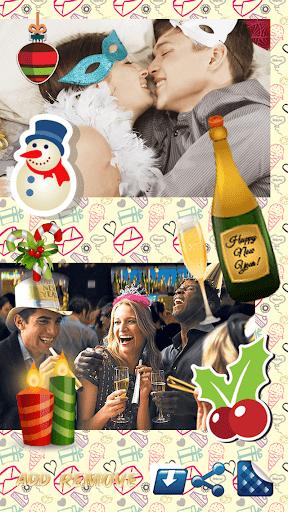 New Year Photo Stickers 2016
