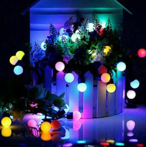 Instalatie liniara multicolor, 20 metri, 200 LED