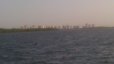 Photo: Veiw from our first anchorage. Lake Worth FL.