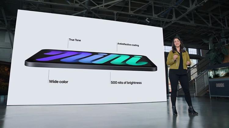 iPad mini 6 thay đổi hoàn toàn về ngôn ngữ thiết kế