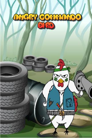 Angry Commando Bird