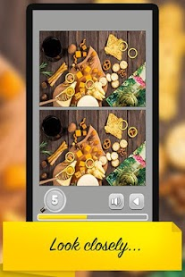 Find the Difference : Food *Free Game - náhled