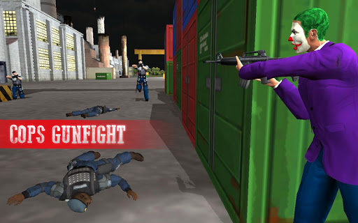 Crazy Clown Gangster Escape 3D for PC