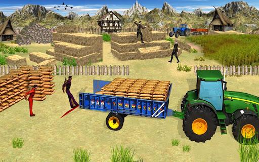 heavy duty tractor drive 3d: real farming games screenshot 3