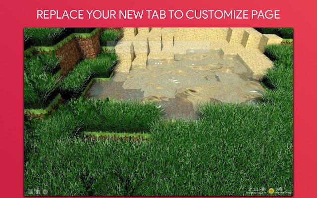 Minecraft Wallpaper HD Custom New Tab