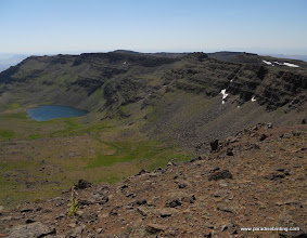 Photo: Wildhorse Lake from the Steens summit trail
