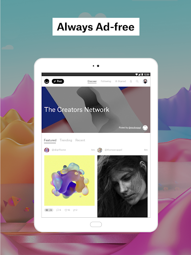 Screenshot 9 for Ello's Android app'