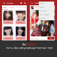 Screenshot of JKT48 Lovers