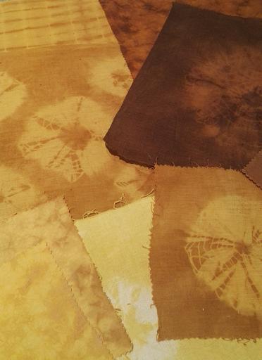 Teinture végétale tissu enduit