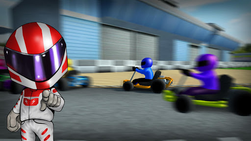 Rush Kart Racing 3D  gameplay | by HackJr.Pw 4