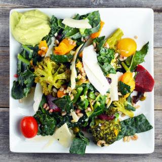 Kale Superfood Salad.