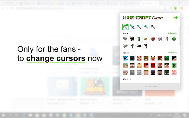 Mine-Craft Cursors