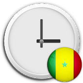 Senegal Clock & RSS Widget