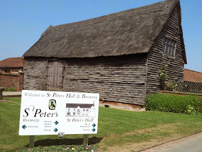 Photo: St. Peter's Brewery near Beccles has been on Owen's pub tour bucket list for 20 years. Finally made it!