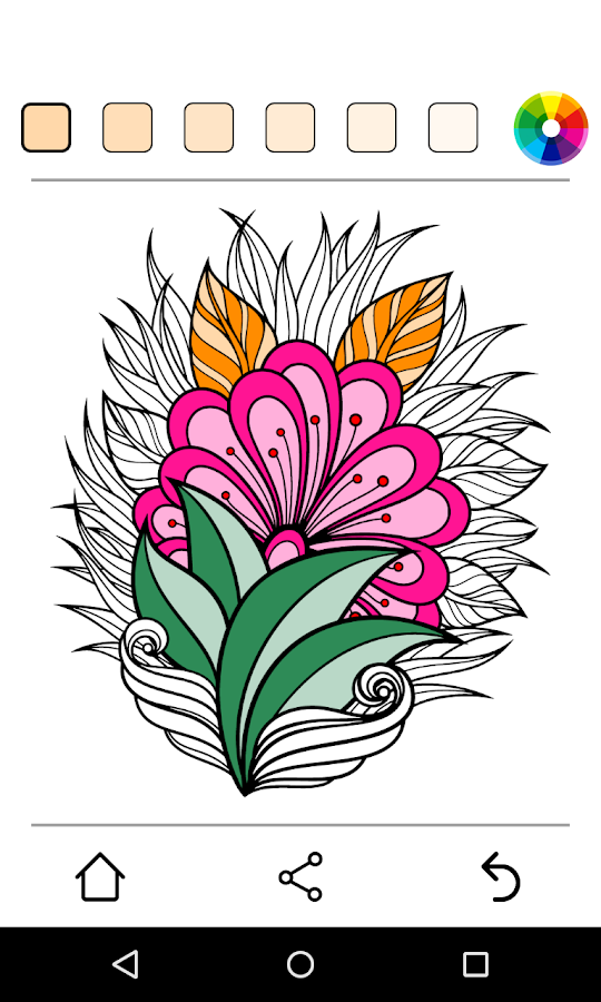 Colorify free coloring book android apps on google play Coloring book for adults android