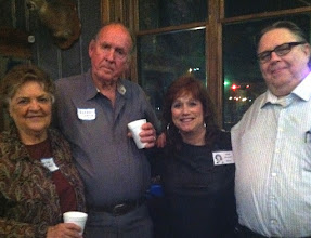 Photo: Wilma Bostick Coble, Gordon Coble, Sandy Wormser Menley, George Mayes