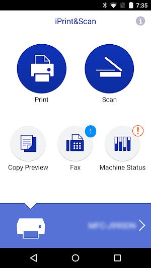 0 Brother iPrint&Scan App screenshot